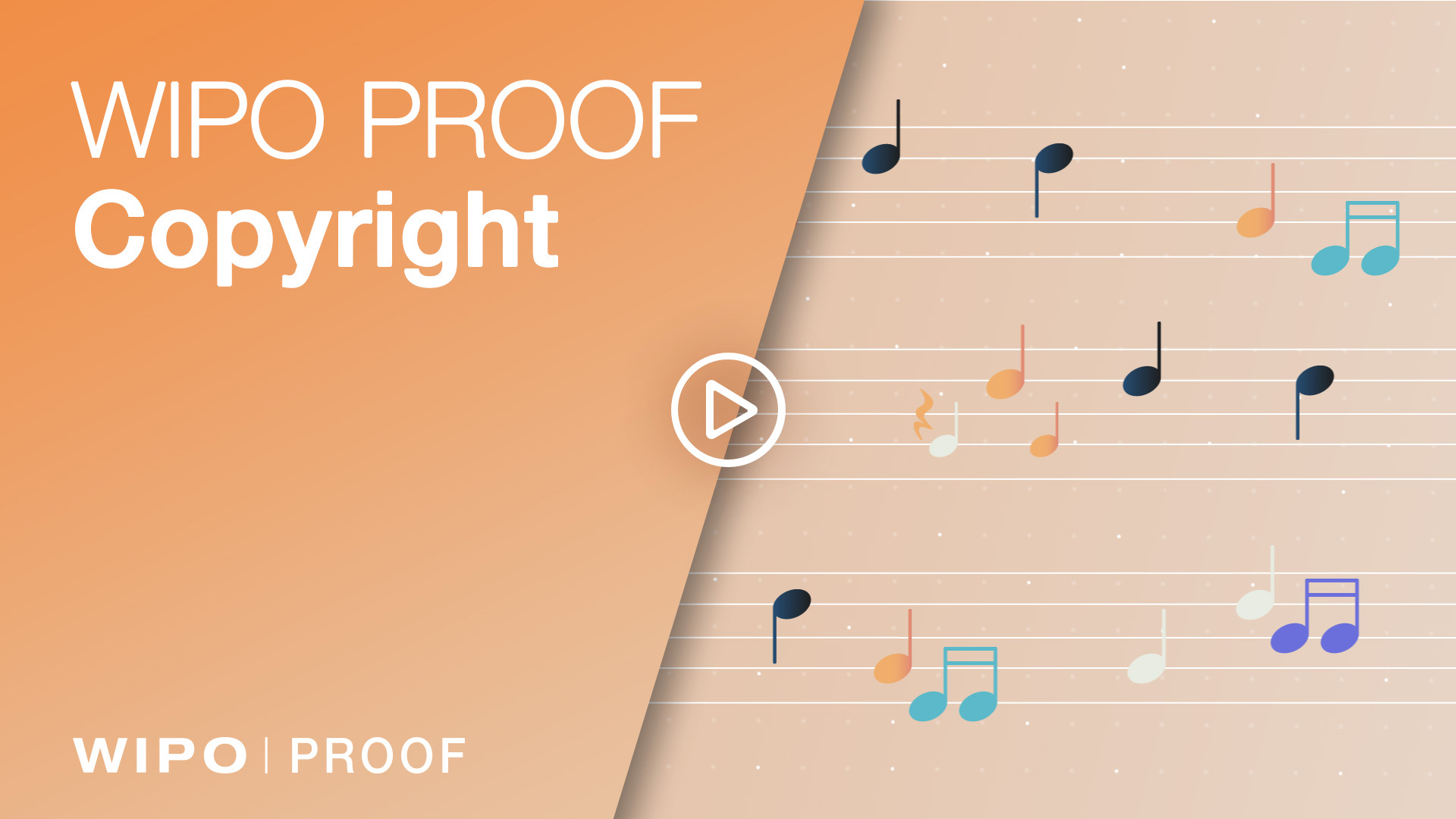 video of how WIPO PROOF can be used for creative works and designs