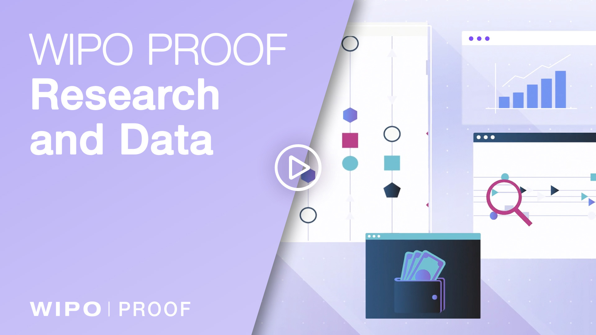 video of how WIPO PROOF can be used for research and data