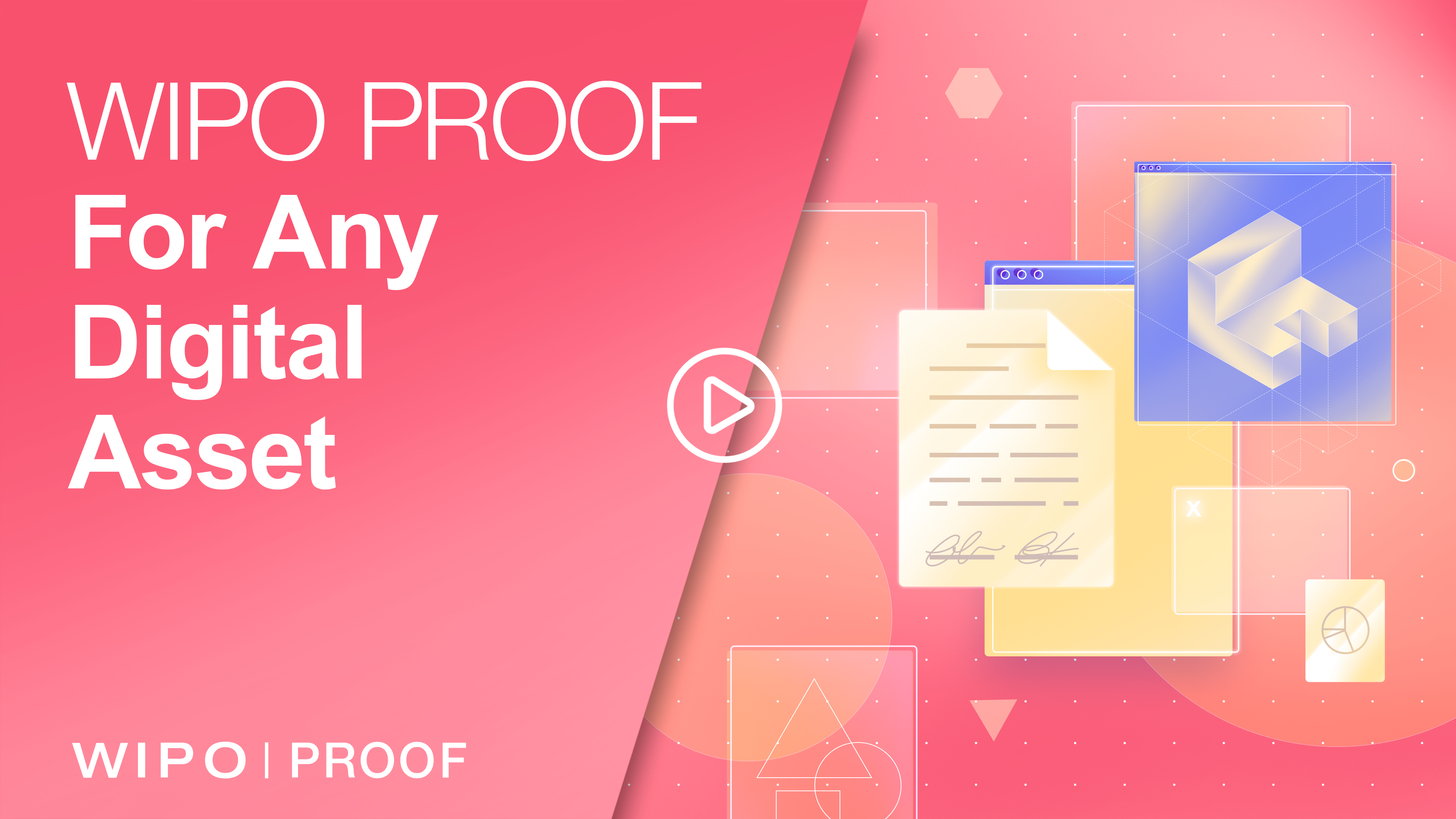 video of how WIPO PROOF can be used for any digital file